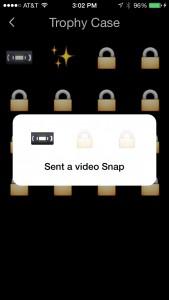 snapchat トロフィー